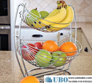 Dual Tier Fruit Basket
