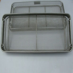 Washing and Degreasing Wire Baskets