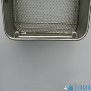 Stainless steel cleaning tray