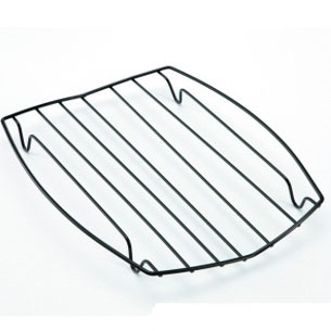 Charcoal grill wire mesh racks